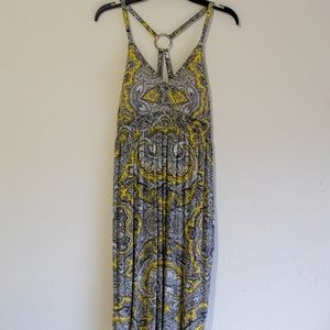 INC Yellow Vibrant Design Dress